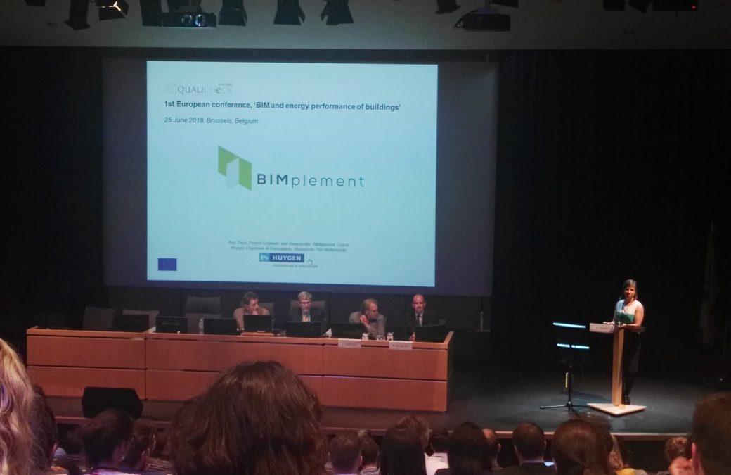 "1st European conference ""BIM and energy performance of buildings"""