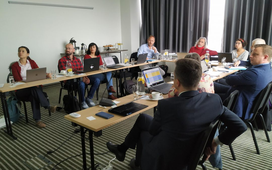 Fifth BIMplement Project Meeting in Vilnius
