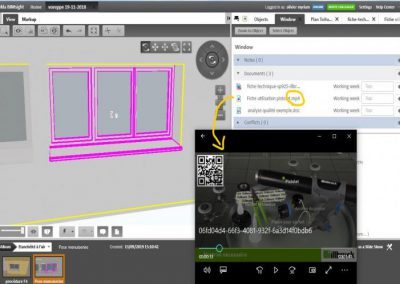 BIM model for airtightness