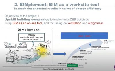 BIMplement was presented to the European Council for Construction Research, Development and Innovation (ECCREDI)