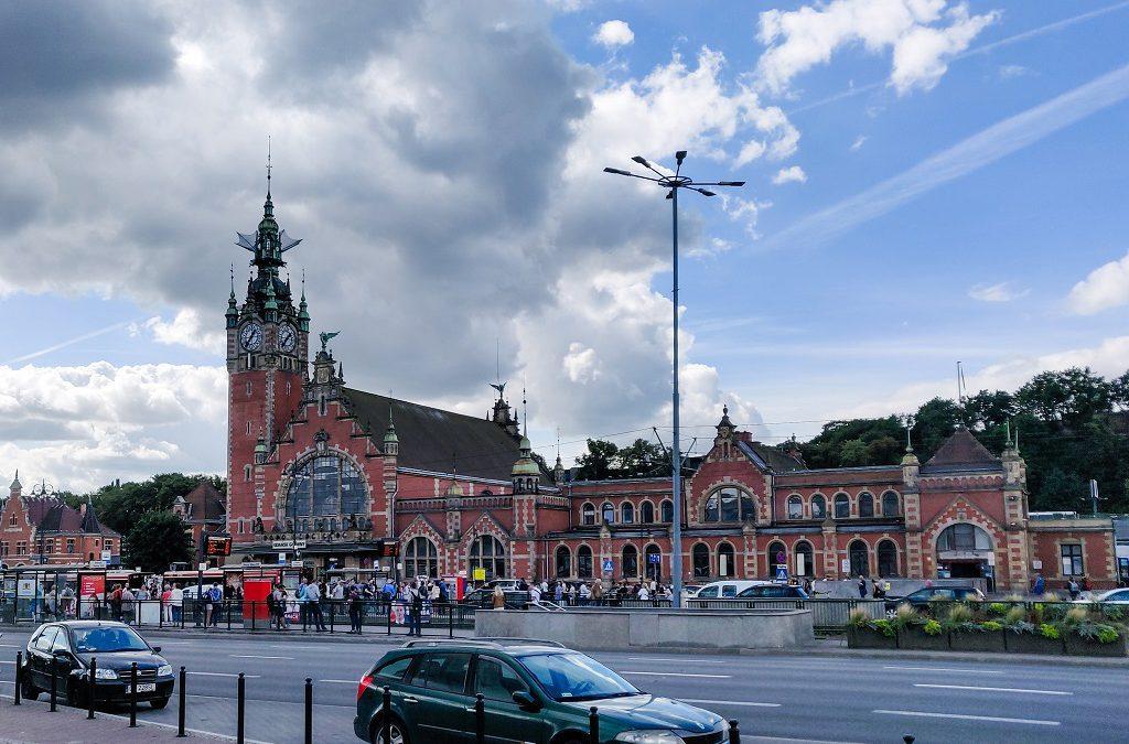 PKP Train station, Gdańsk